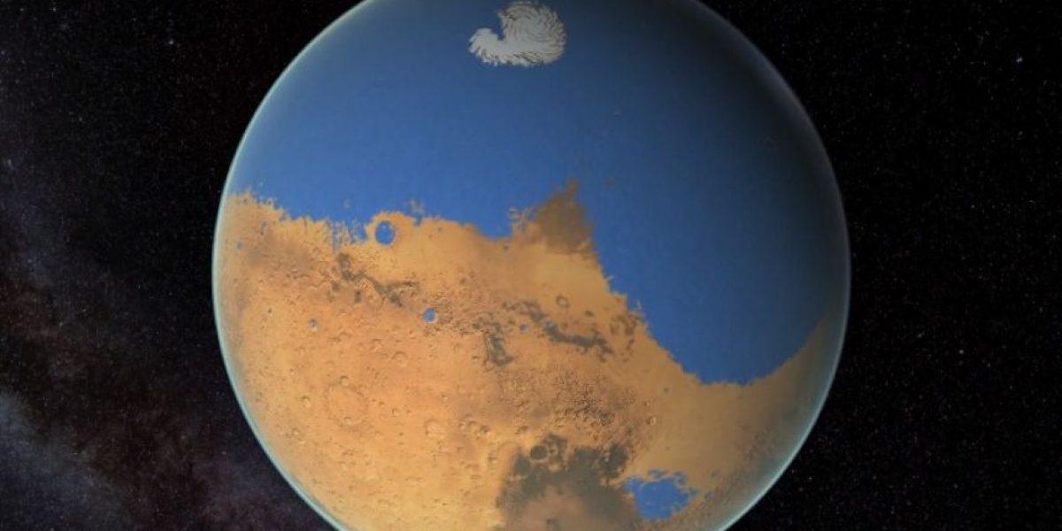 VIDEO: Así se veía el océano que cubría a Marte
