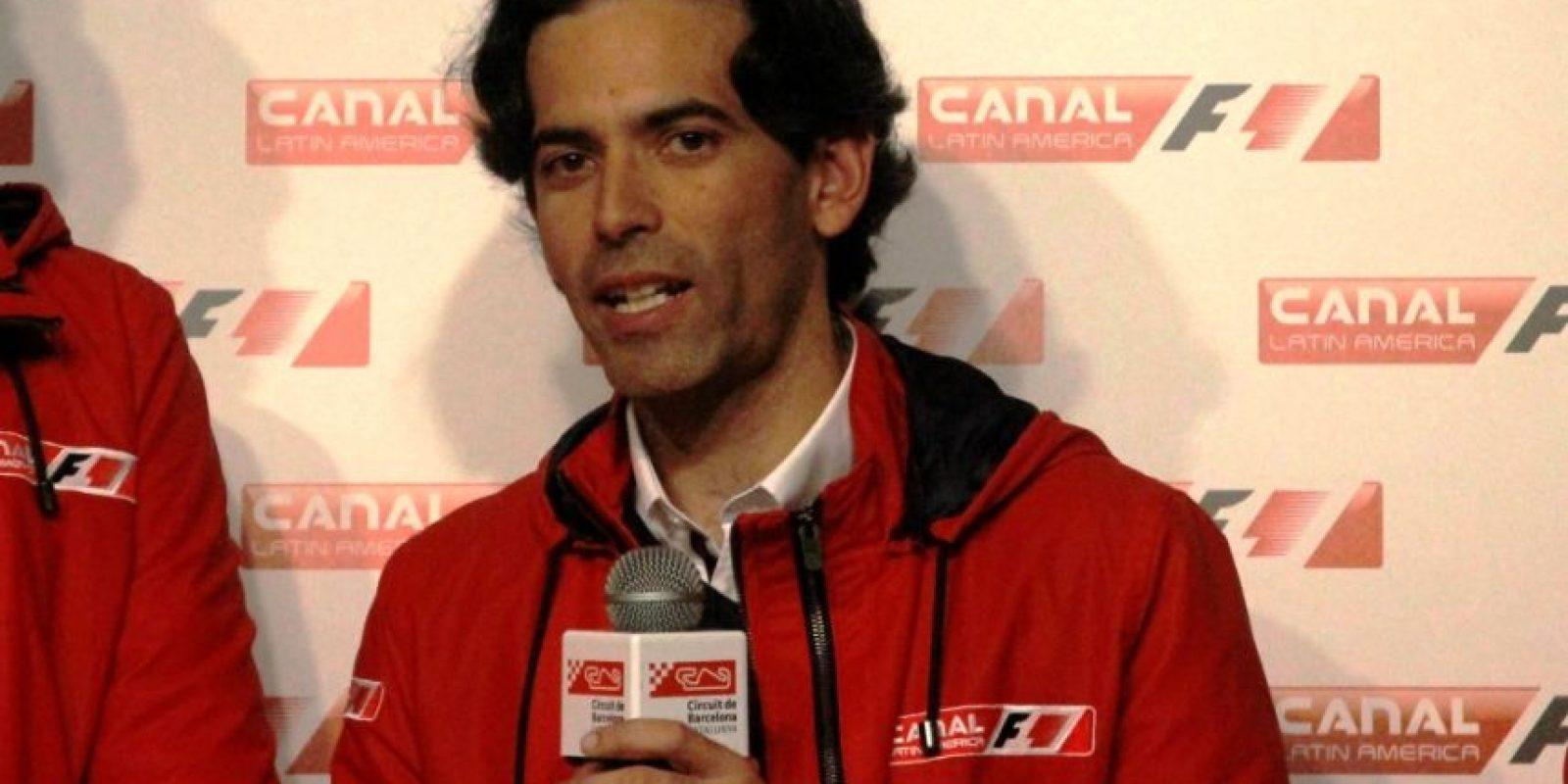 Y el analista colombiano Diego Mejía Foto:Ramón Mompió
