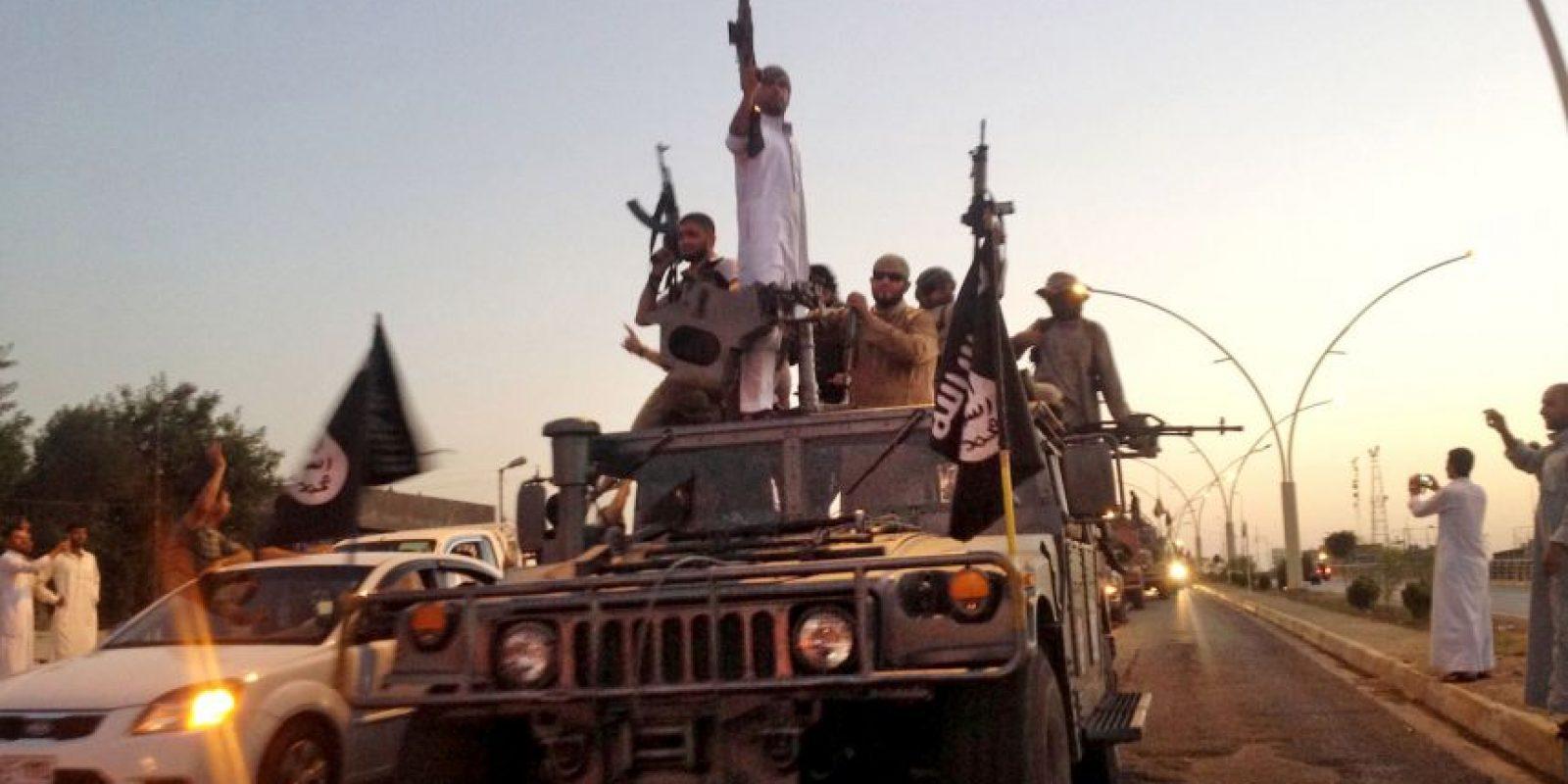 1. El Estado Islámico ha establecido una macabra política contra los homosexuales. Foto:AP