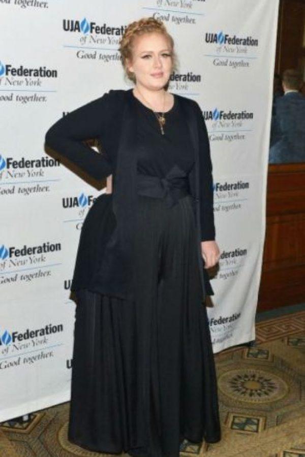 """Adele """"Nunca he querido verme como una modelo en la portada de una revista"""", dijo la cantante inglesa a la revista People, """"represento a la mayoría de las mujeres y estoy muy orgullosa de ello"""". Foto:Getty Images"""