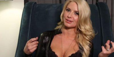 Annika Albrite contó que ella tuvo que jugar rudo con sus juguetes sexuales. Foto:Vince Mancini/ Youtube