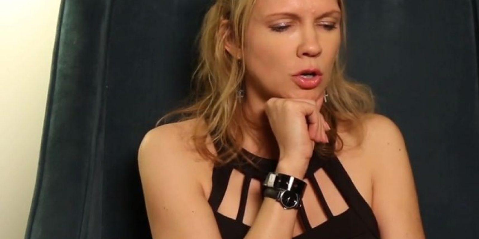 Tuvo sexo con suturas en su cuerpo. Obviamente maquilladas. Foto:Vince Mancini/ Youtube