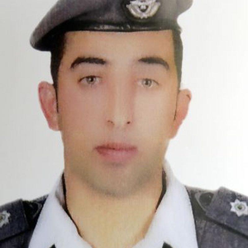 Moaz al Kasasbeh, piloto jordano. Foto:AFP