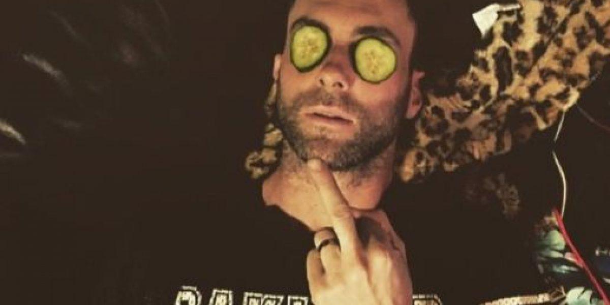 FOTO: No creerán cómo lucía Adam Levine antes de ser famoso
