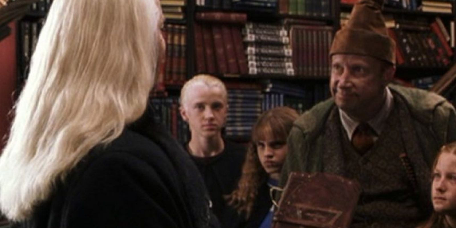 Al parecer, el odio de los Malfoy a los Weasley ha quedado superado. Foto:Warner