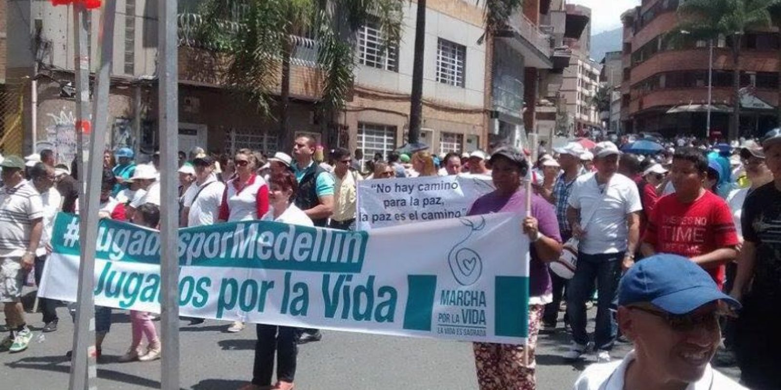 Medellín Foto:Facebook de Antanas Mockus