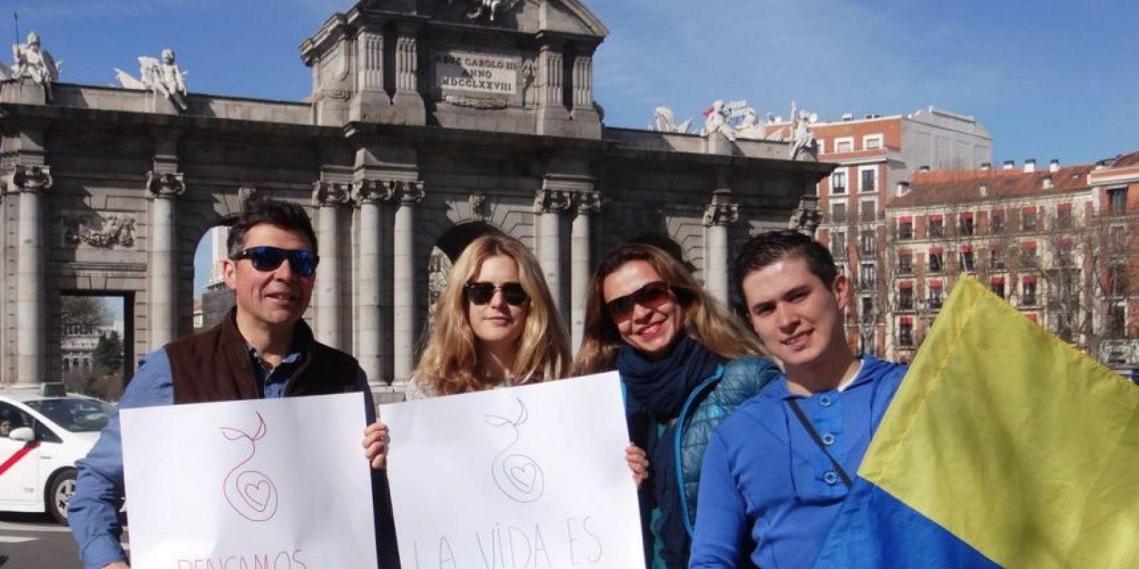 Madrid Foto:Facebook de Antanas Mockus