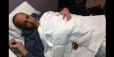 Sus últimos días los pasó en el hospital Foto:Twitter/simonsam