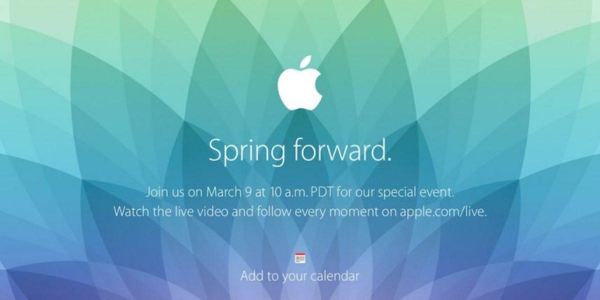 EN VIVO: Siga todos los detalles de la presentación del Apple Watch