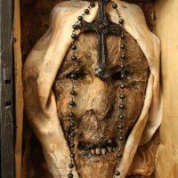 Esta es la cabeza de la primera monja que fue exorcizada.