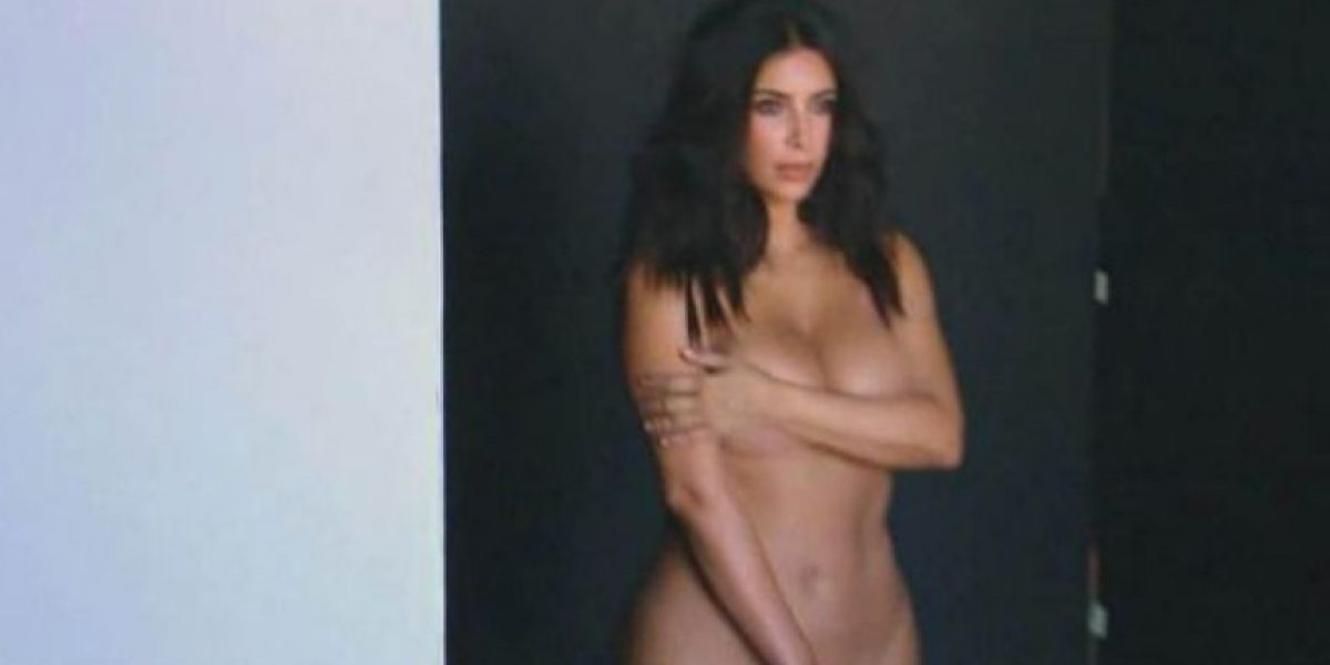 FOTOS: Kim Kardashian posa desnuda antes de embarazarse otra vez