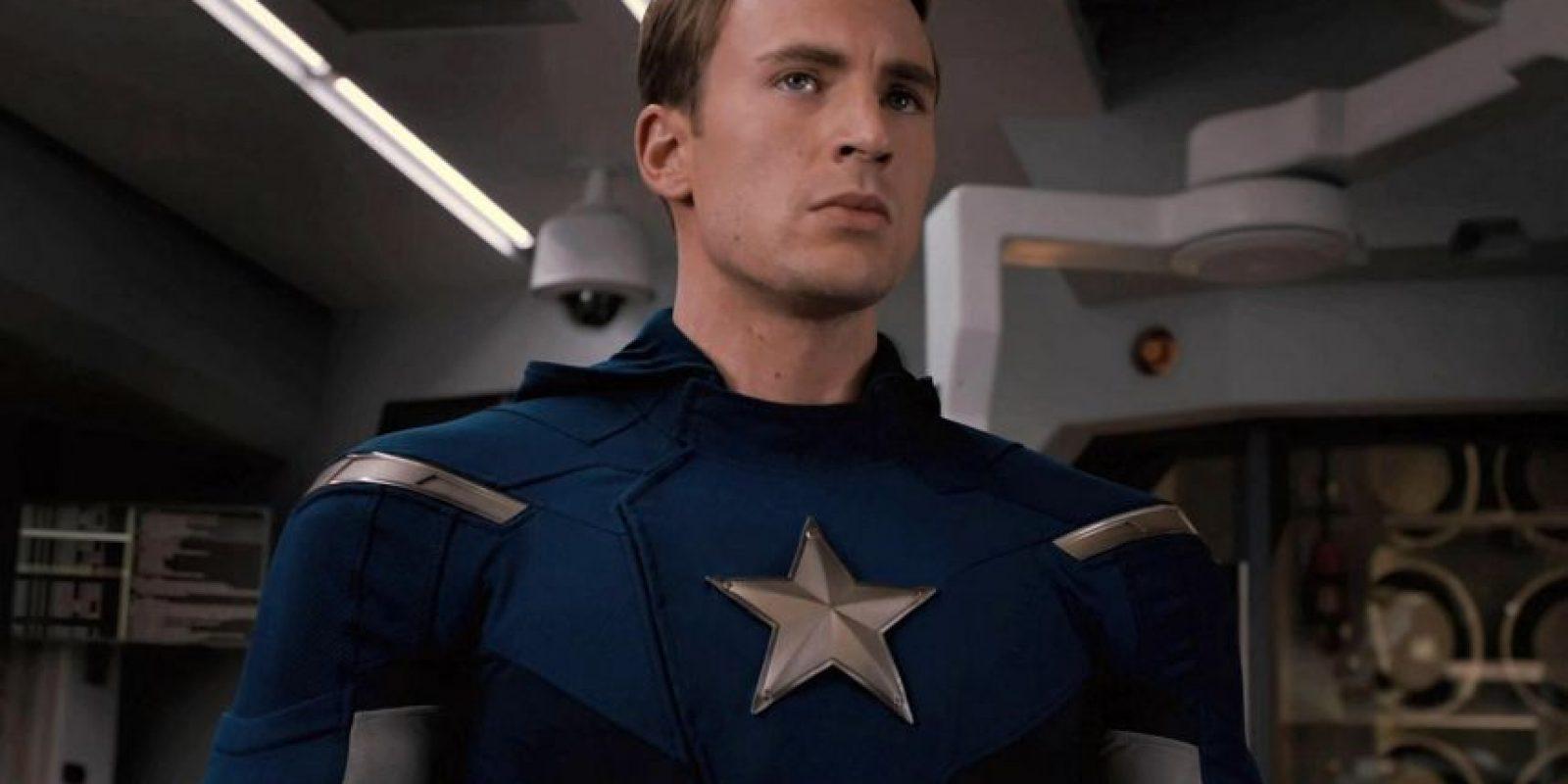 Chris Evans es Capitán América Foto:Facebook