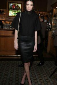 Kendall, con cuero abajo. Foto:Getty Images