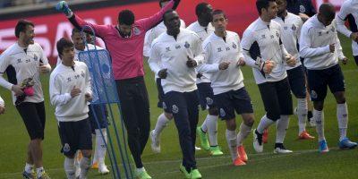La nómina del Porto se entrena para poder dejar de lado al Basilea. Foto:AFP