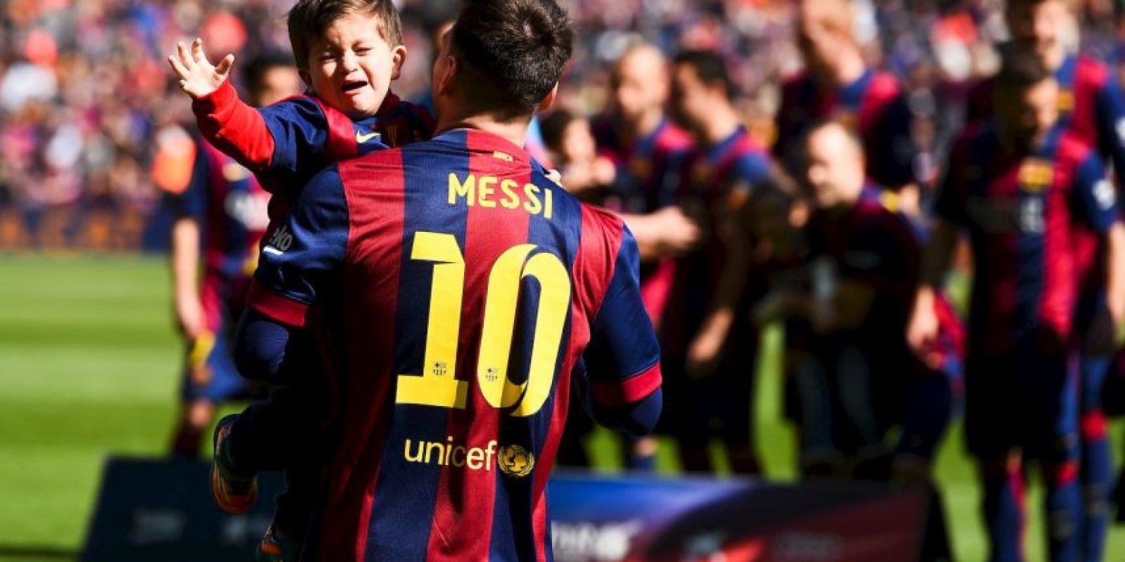 Pero Messi una vez más se llevó todo los reflectores Foto:Getty Images
