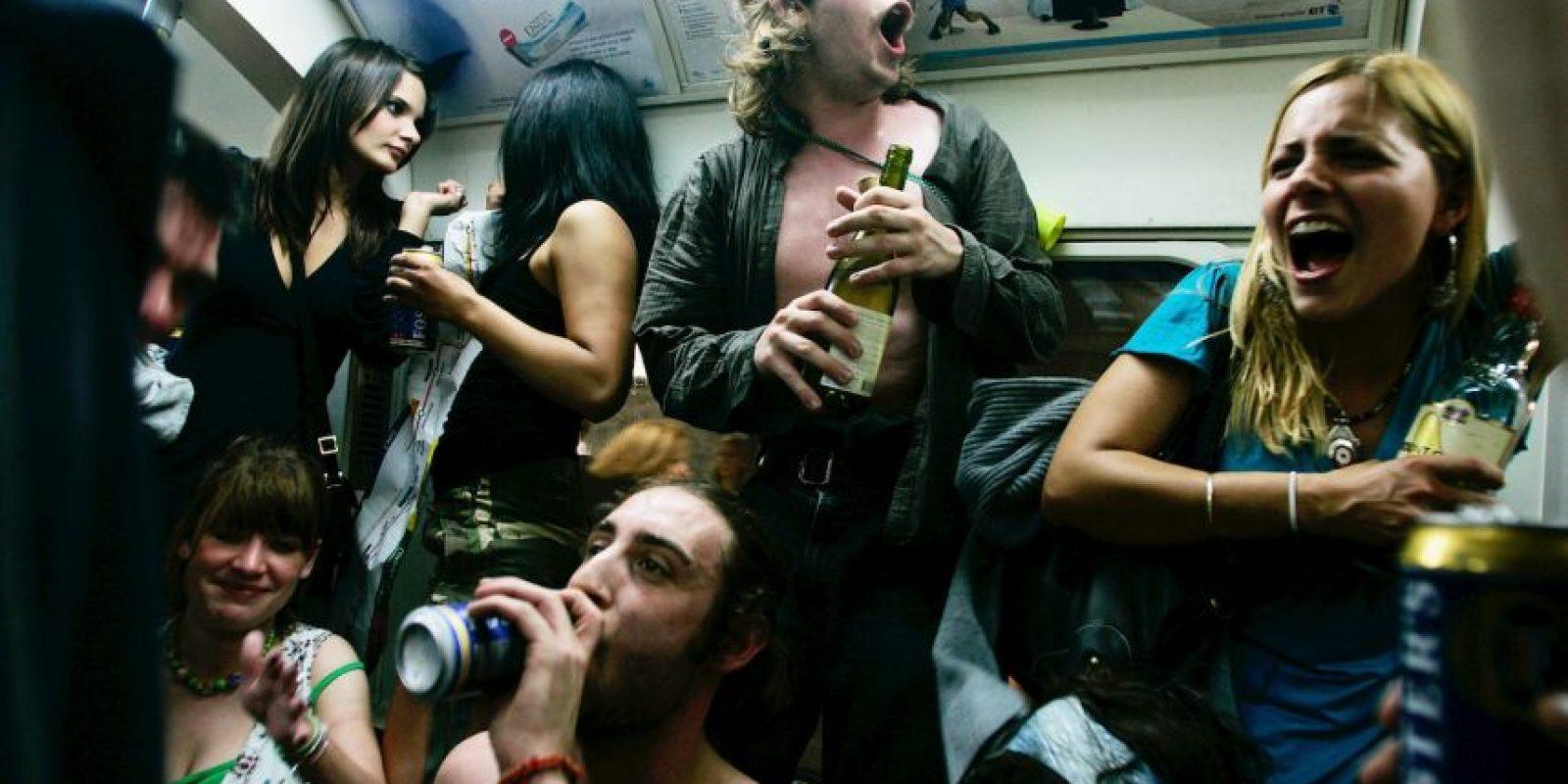 Se les pidió beber el equivalente a un vaso de vino. Foto:Getty Images