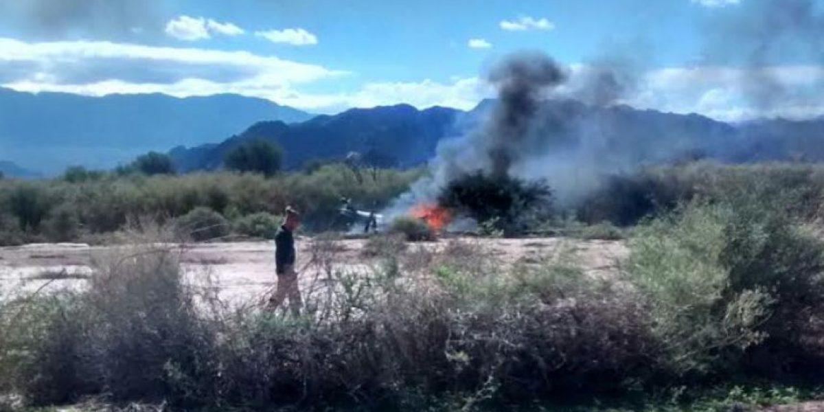 VIDEO: El momento exacto del choque de helicópteros en Argentina
