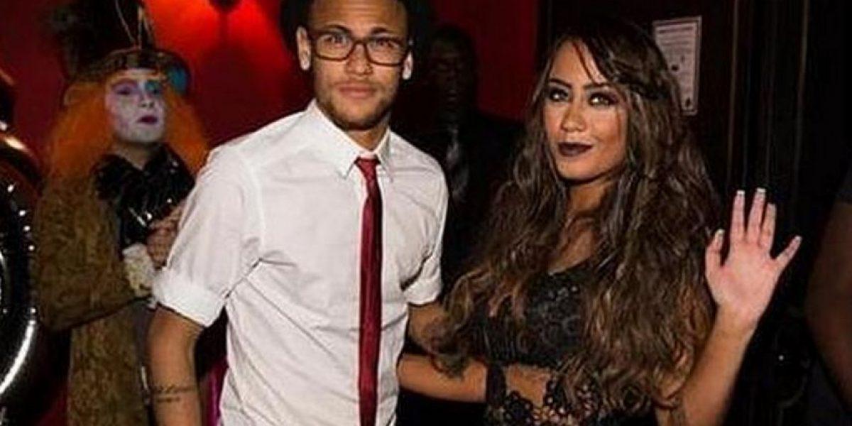 Neymar, el alma de la fiesta de cumpleaños de su hermana Rafaella