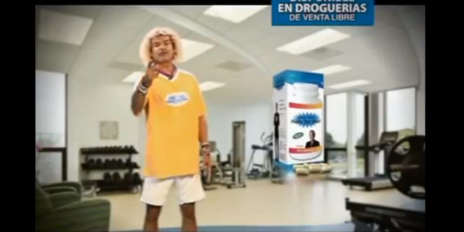 Carlos 'el Pibe' Valderrama – Reduce FatFast. Foto:Captura de Youtube