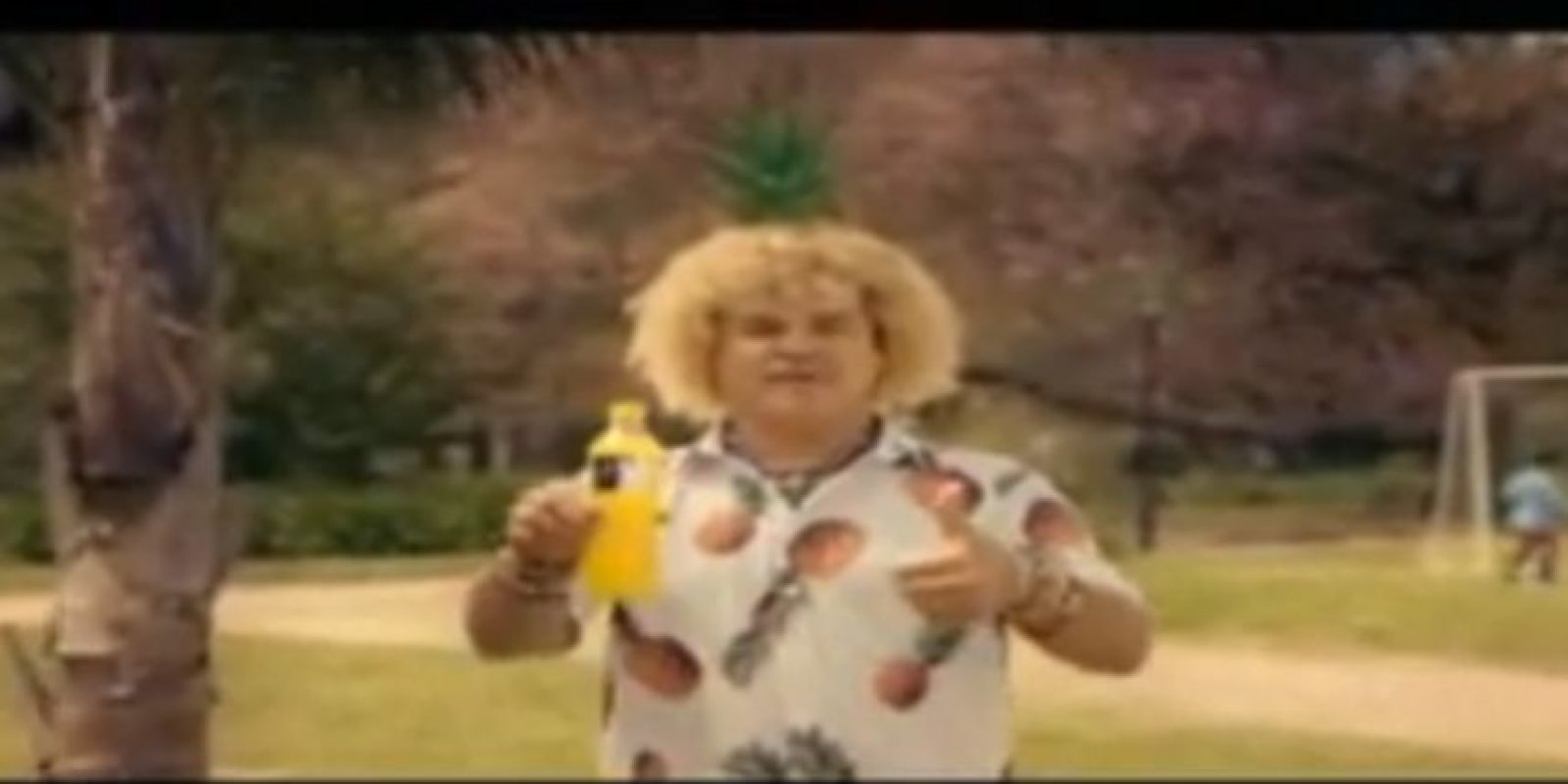 Carlos el Pibe Valderrama. Big Cola de piña Foto: Captura de Youtube
