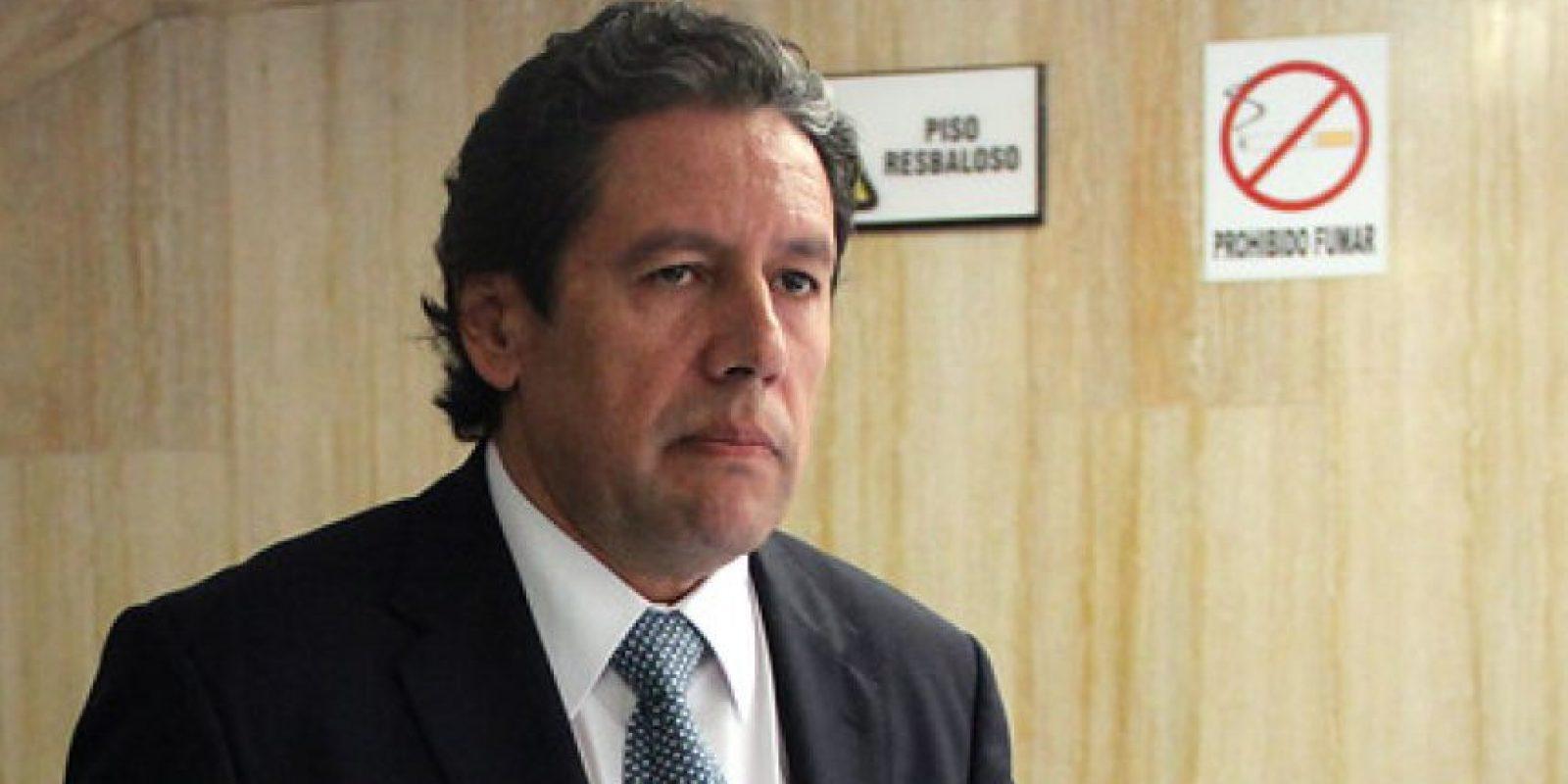 Magistrado Mauricio González.