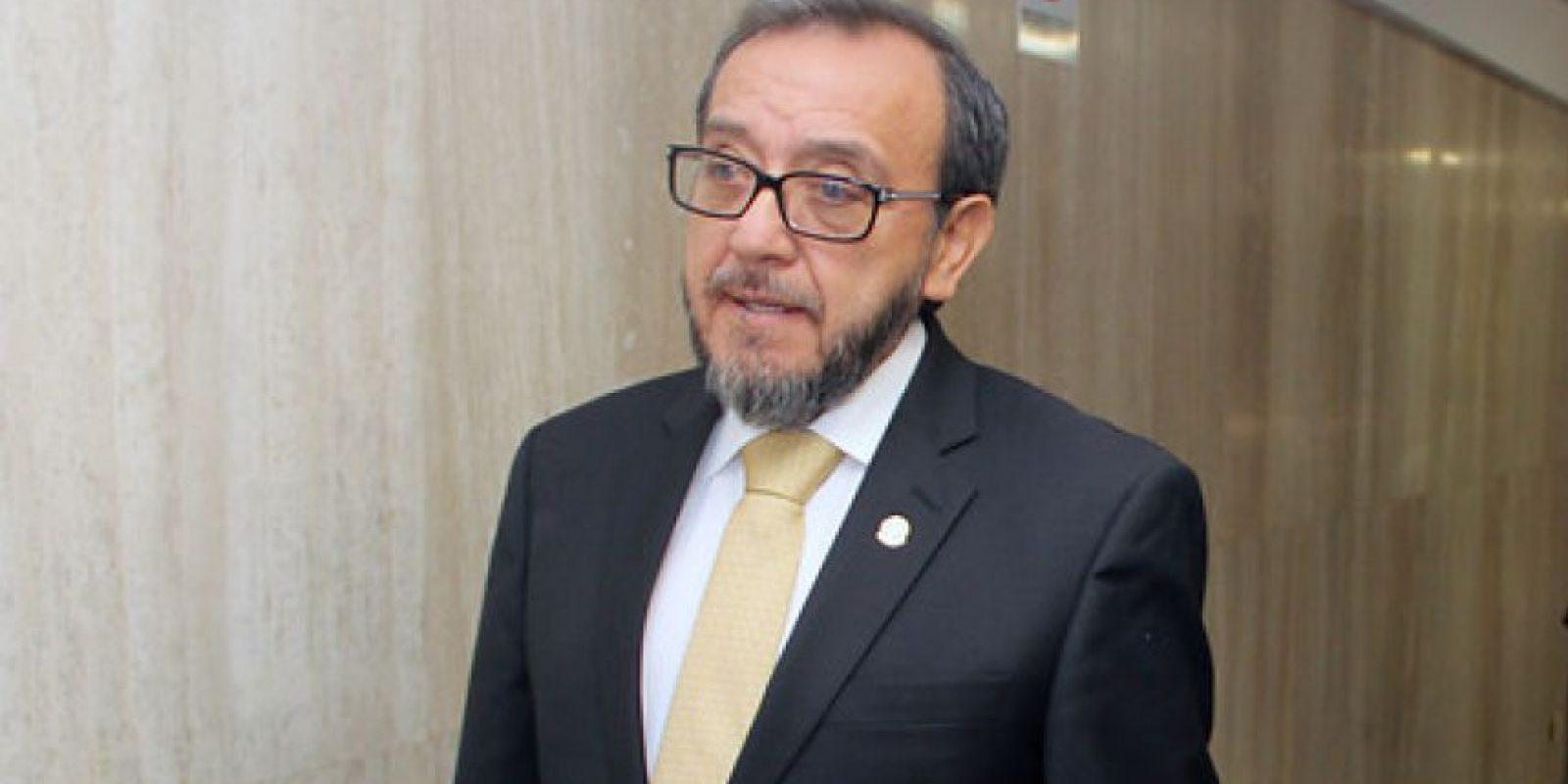 Magistrado Luis Vargas.