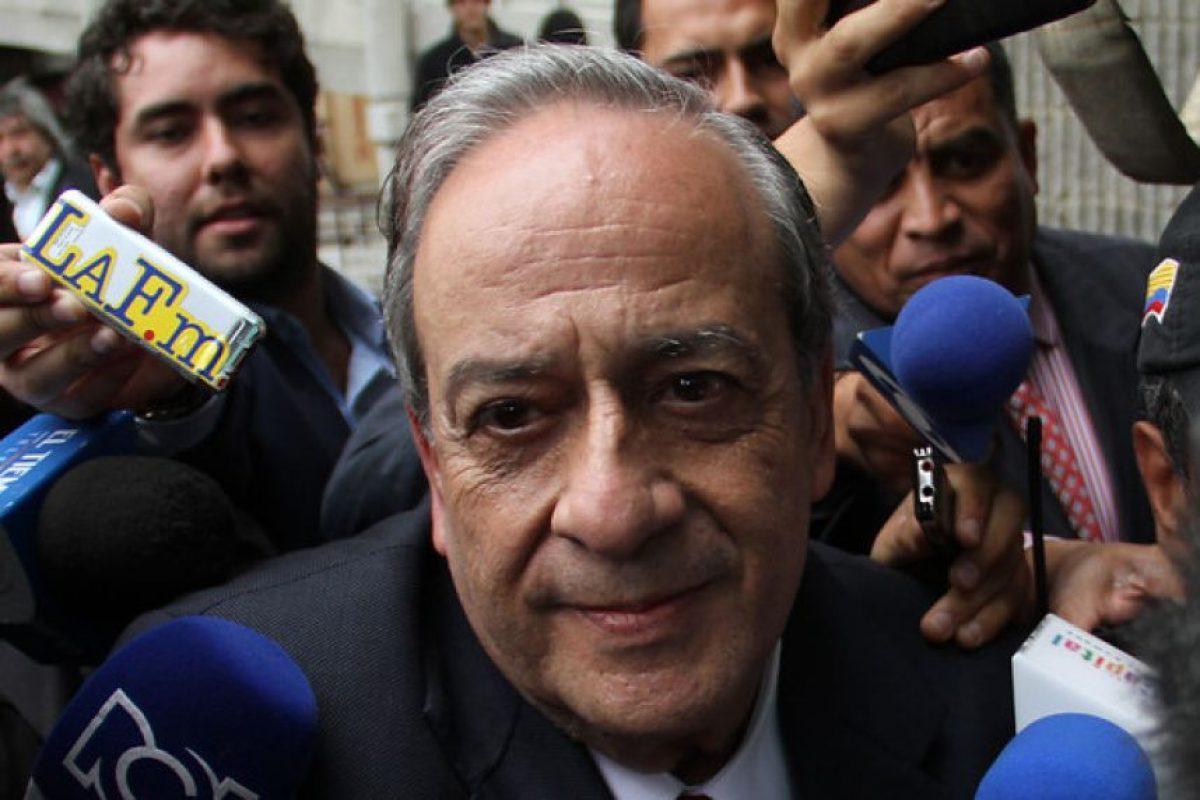 Abogado Víctor Pacheco.