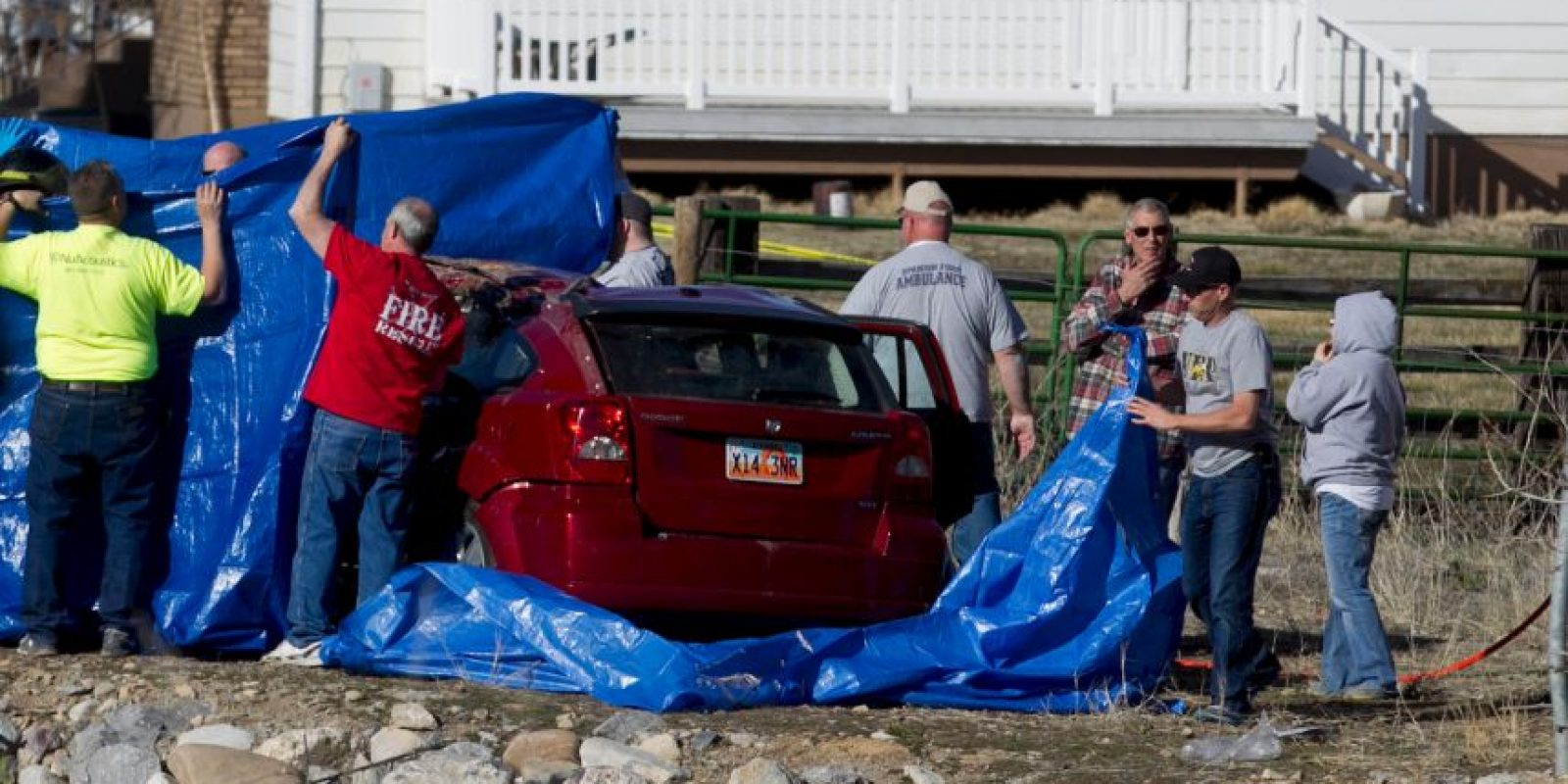 Autoridades aseguran haber escuchado a una mujer pedir auxilio Foto:AP