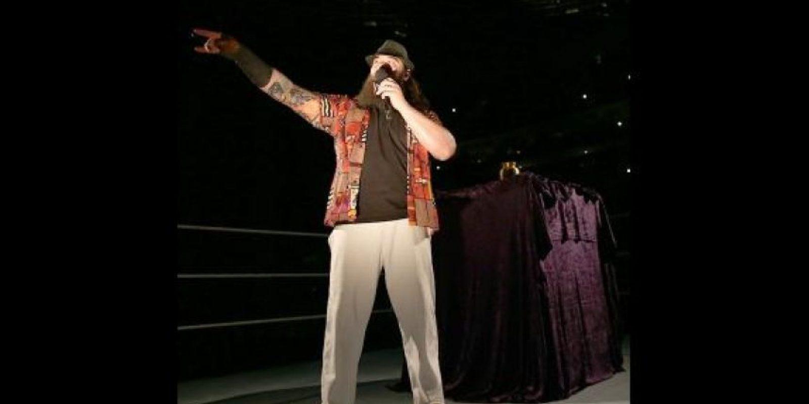 Las luces se apagaron Foto:WWE
