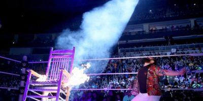 Un rayo cayó en la silla Foto:WWE