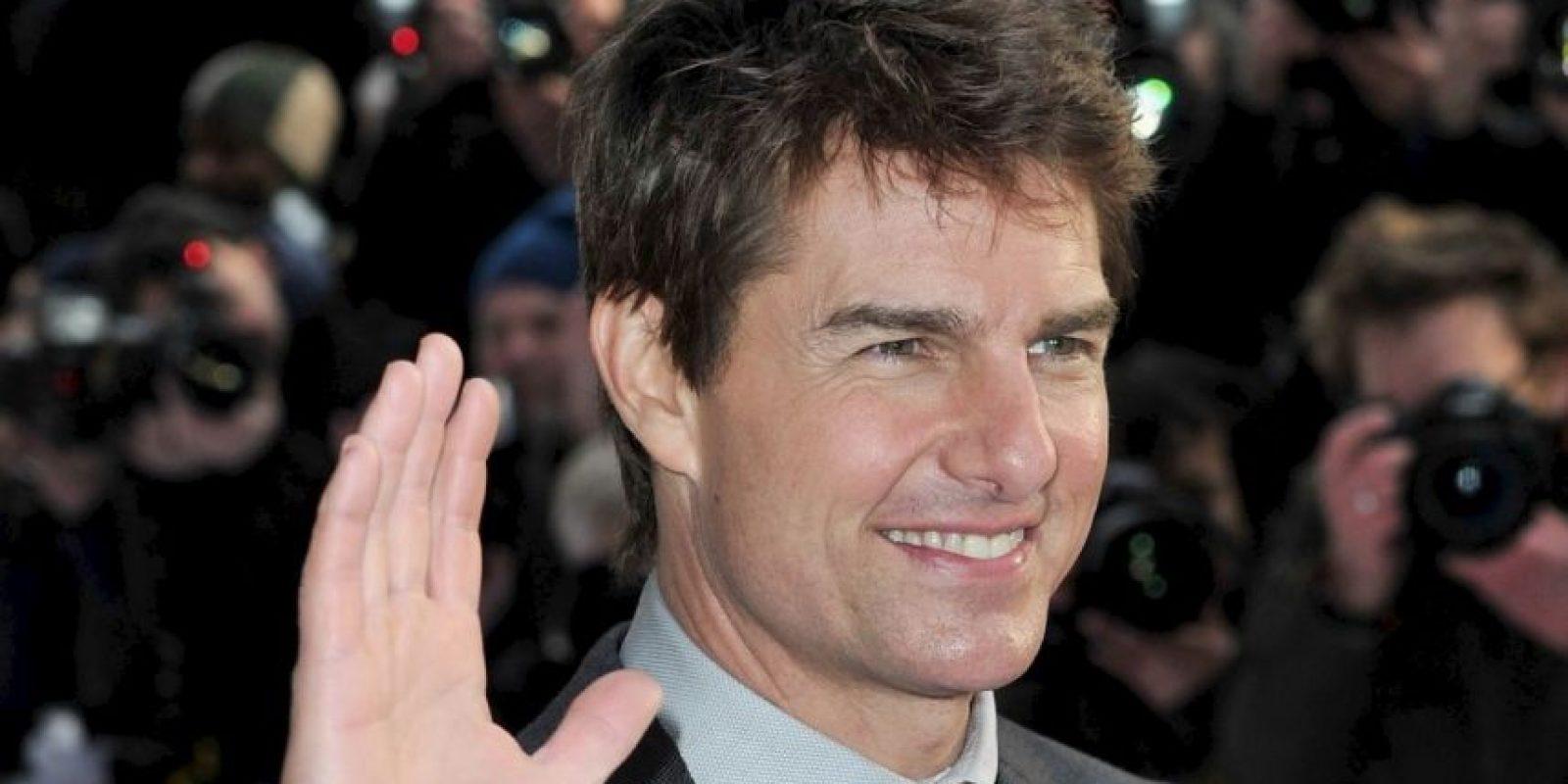 """Tom Cruise fue besado por Thandie Newton en """"Misión Imposible"""". Foto:Getty Images"""
