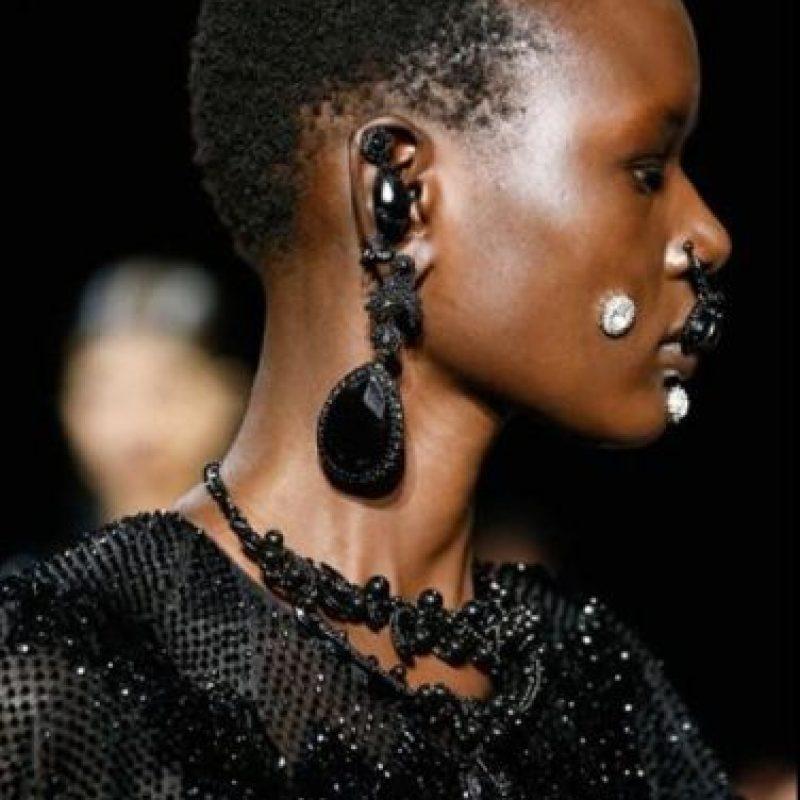 Ricardo Tisci, de Givenchy, sabe que la moda es arte. Foto:AP