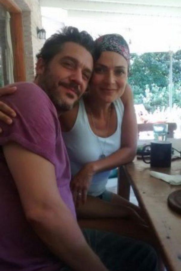 Ana María Orozco con su novio Maxi Ghione Foto:Twitter @MaxiGhione