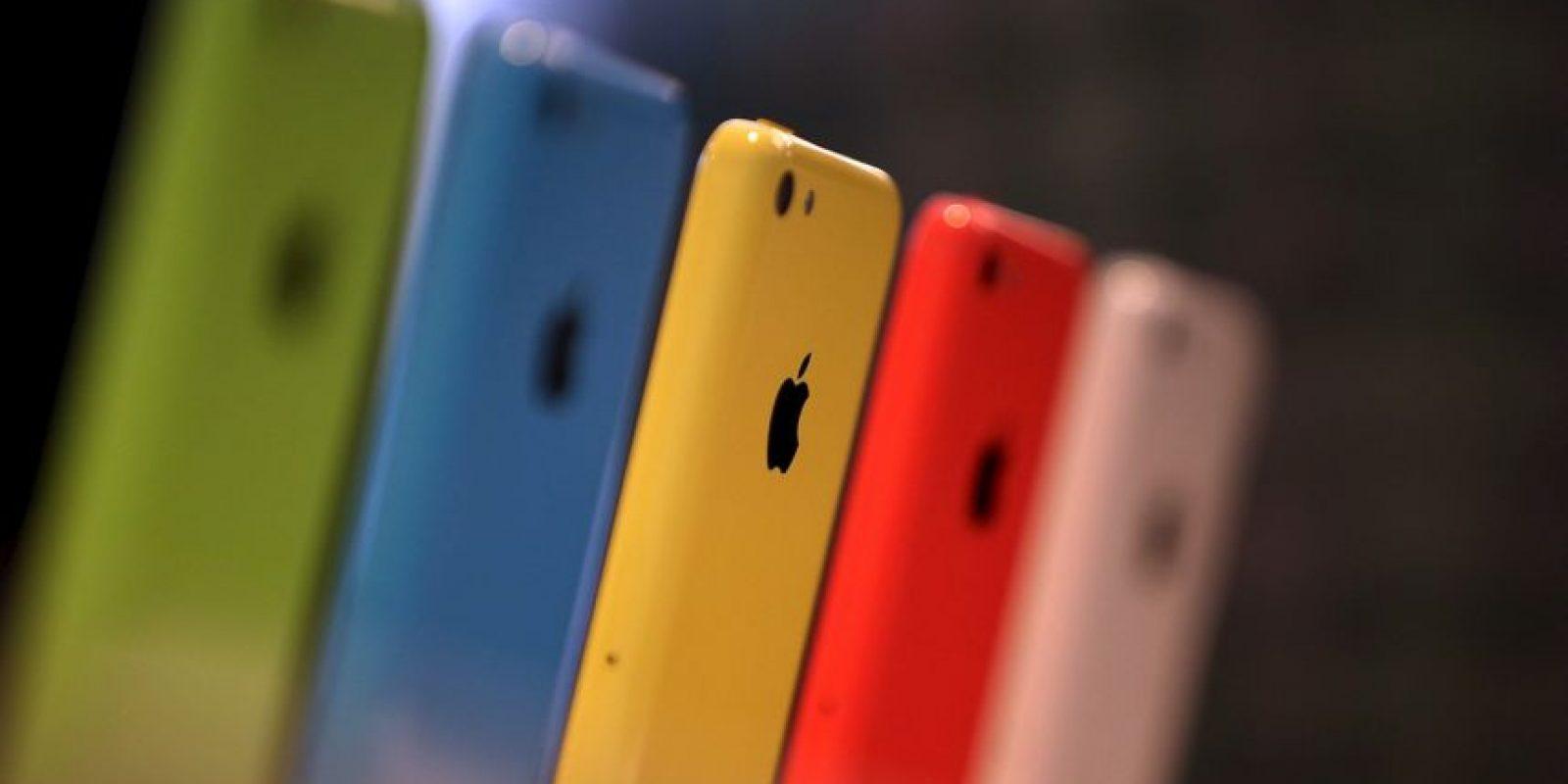 Los iPhone Colors fueron muy populares Foto:Getty