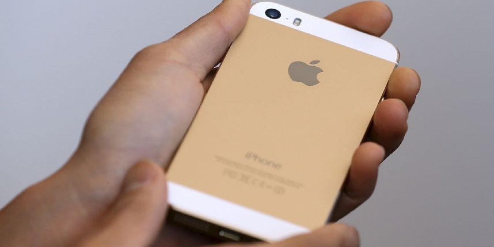 Dorado es el color más reciente en el iPhone Foto:Getty