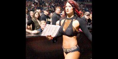 Mira las mejores imágenes de Victoria cuando formaba parte de la WWE: Foto:WWE