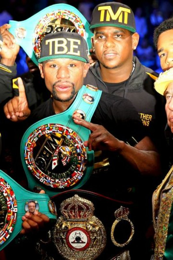 Mayweather no ha perdido en el terreno profesional Foto: Getty Images
