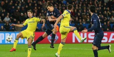 Ingleses y franceses igualaron 1-1 en el partido de ida de los octavos de final de la Champions League Foto:Getty Images