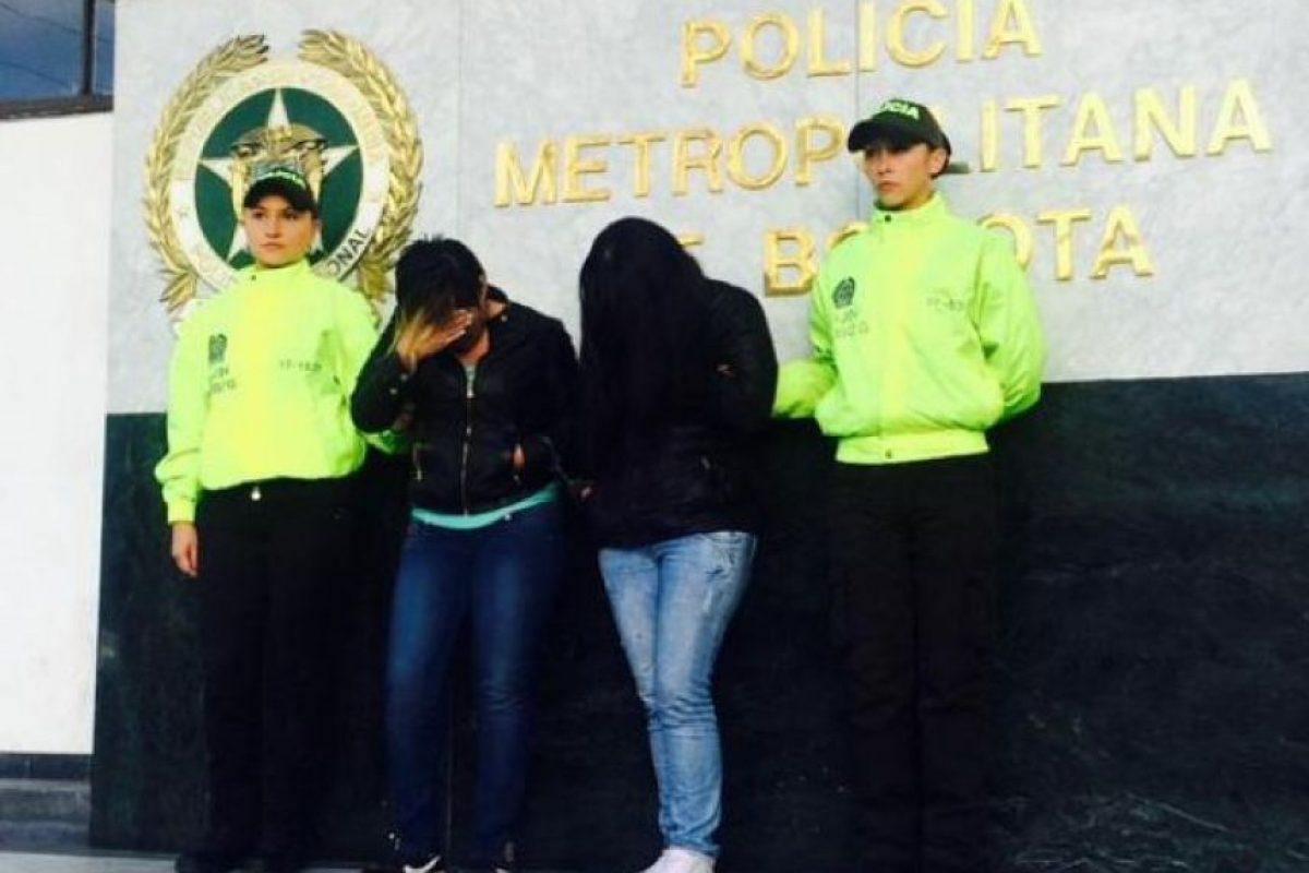 Las nanitas Foto:Policía de Bogotá