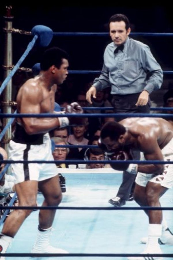 Mohammad Alí vs Joe Frazier II Foto: Getty