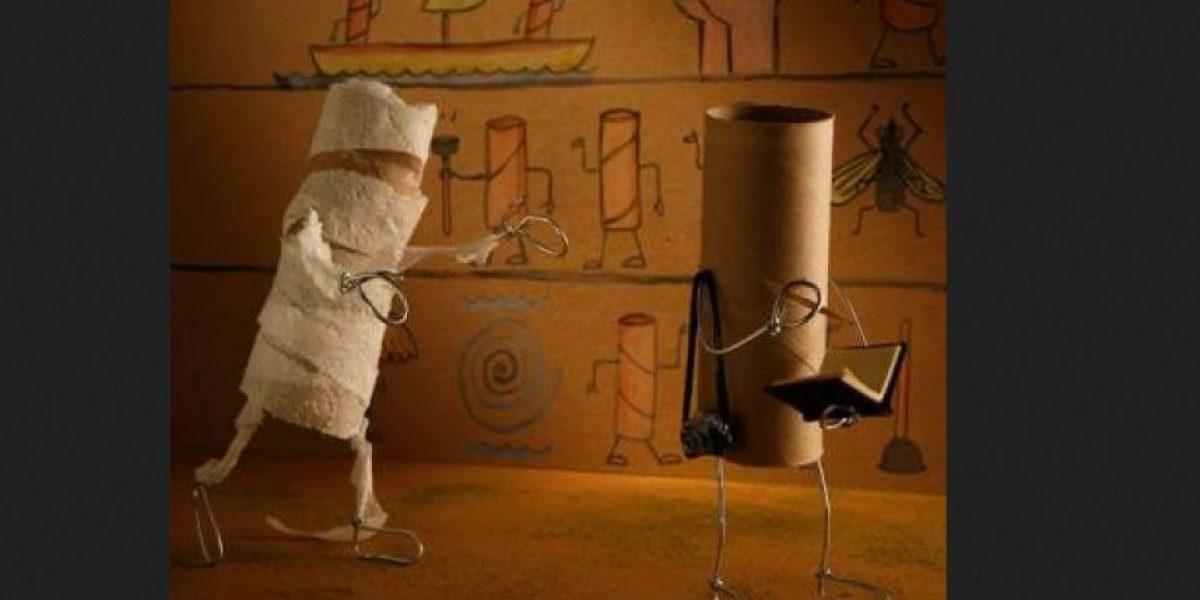 Galería: artista recrea objetos del hogar al estilo Toy Story
