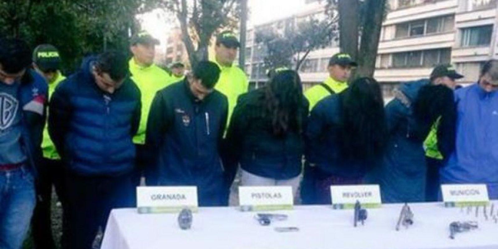 Foto:Policía de Bogotá