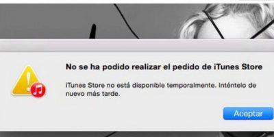 Desde la Mac App Store tampoco se puede acceder. Foto:Apple