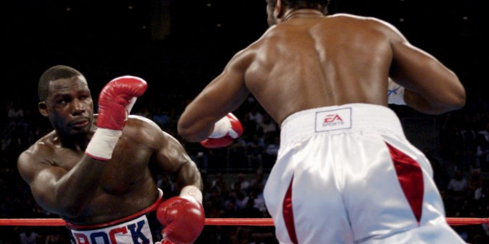 Lennox Lewis vs. Hasim Rahman Foto: Getty
