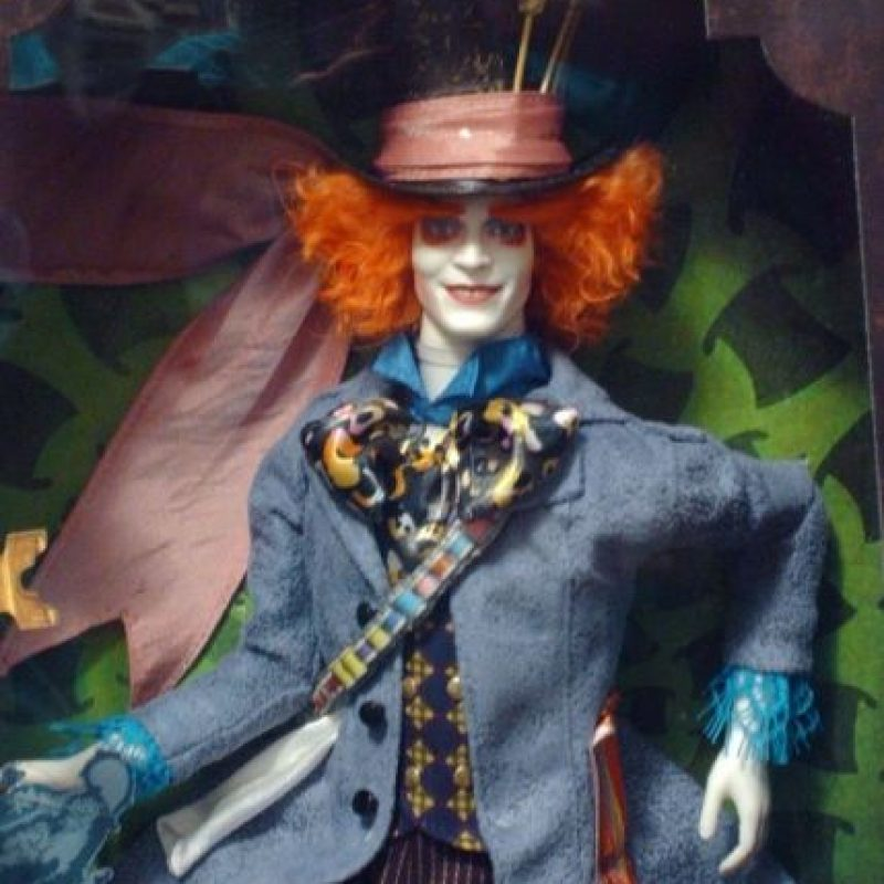 Basado en el personaje que interpretó Johnny Depp Foto:Mattel