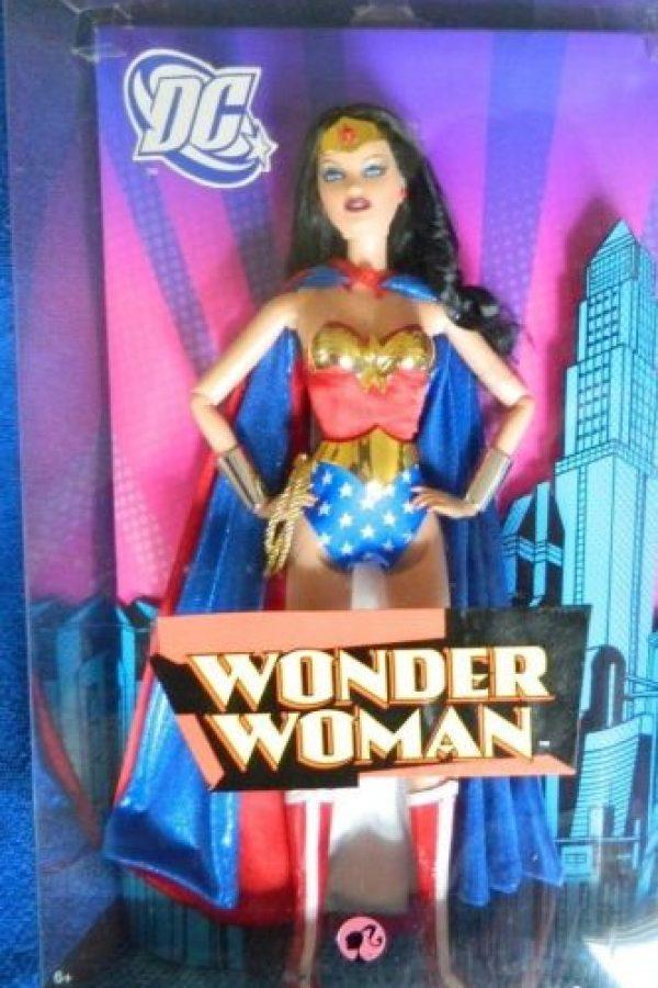 La Barbie de la Mujer Maravilla. Foto:Mattel