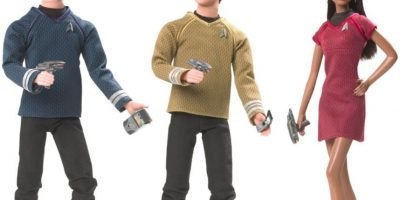 "Los muñecos inspirados en ""Star Trek"" Foto:Mattel"