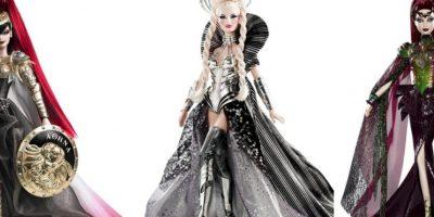 Las Barbies inspiradas en diosas griegas. Foto:Mattel