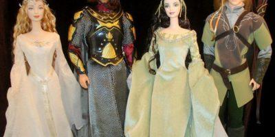 """Las Barbies de """"El Señor de los Anillos"""" Foto:Mattel"""