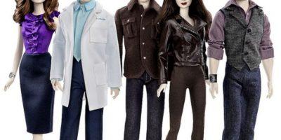 """Las Barbies inspiradas en """"Crepúsculo"""" Foto:Mattel"""